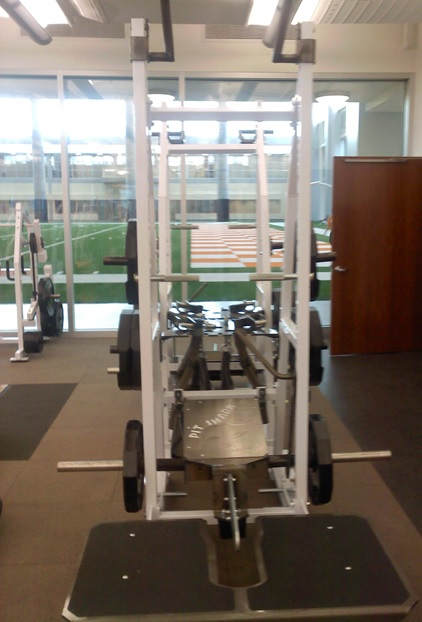 Pit Shark Tennessee Weight room