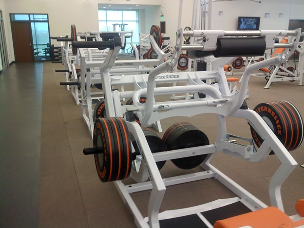 Tennessee Weight Room Squat Pro