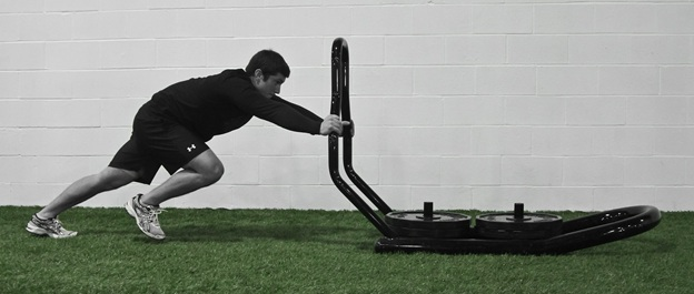 Conditioning sled