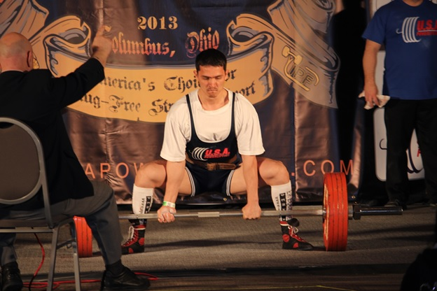 Powerlifting USA Deadlift