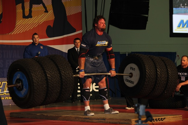 Strongman Tire Deadlift
