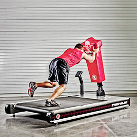 indoor football sled