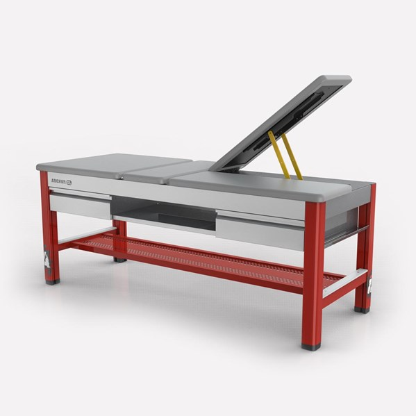 Impact Athletic Anchor SL training table with split leg feature