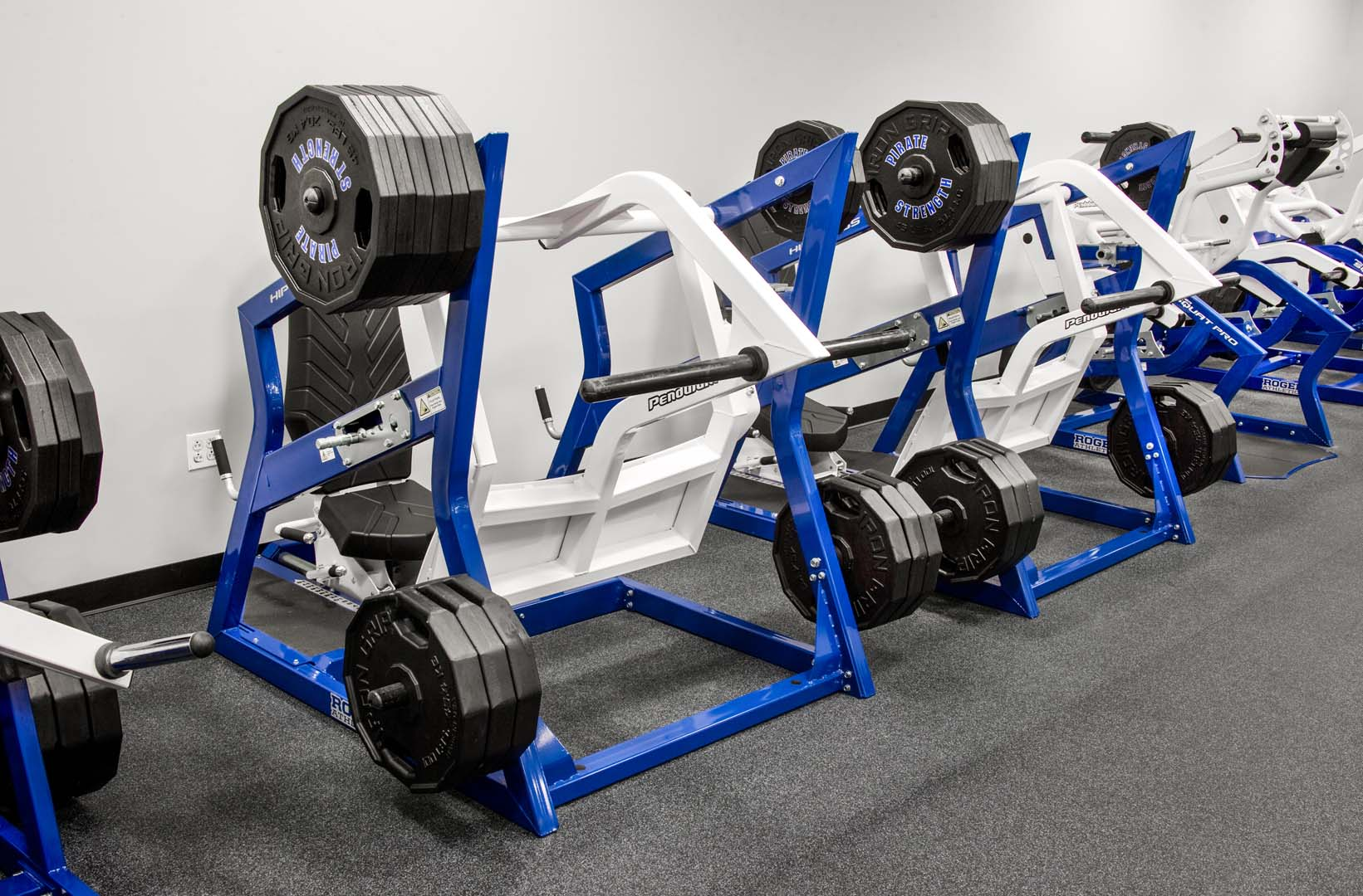 Seton Hall Strength - Hip Press