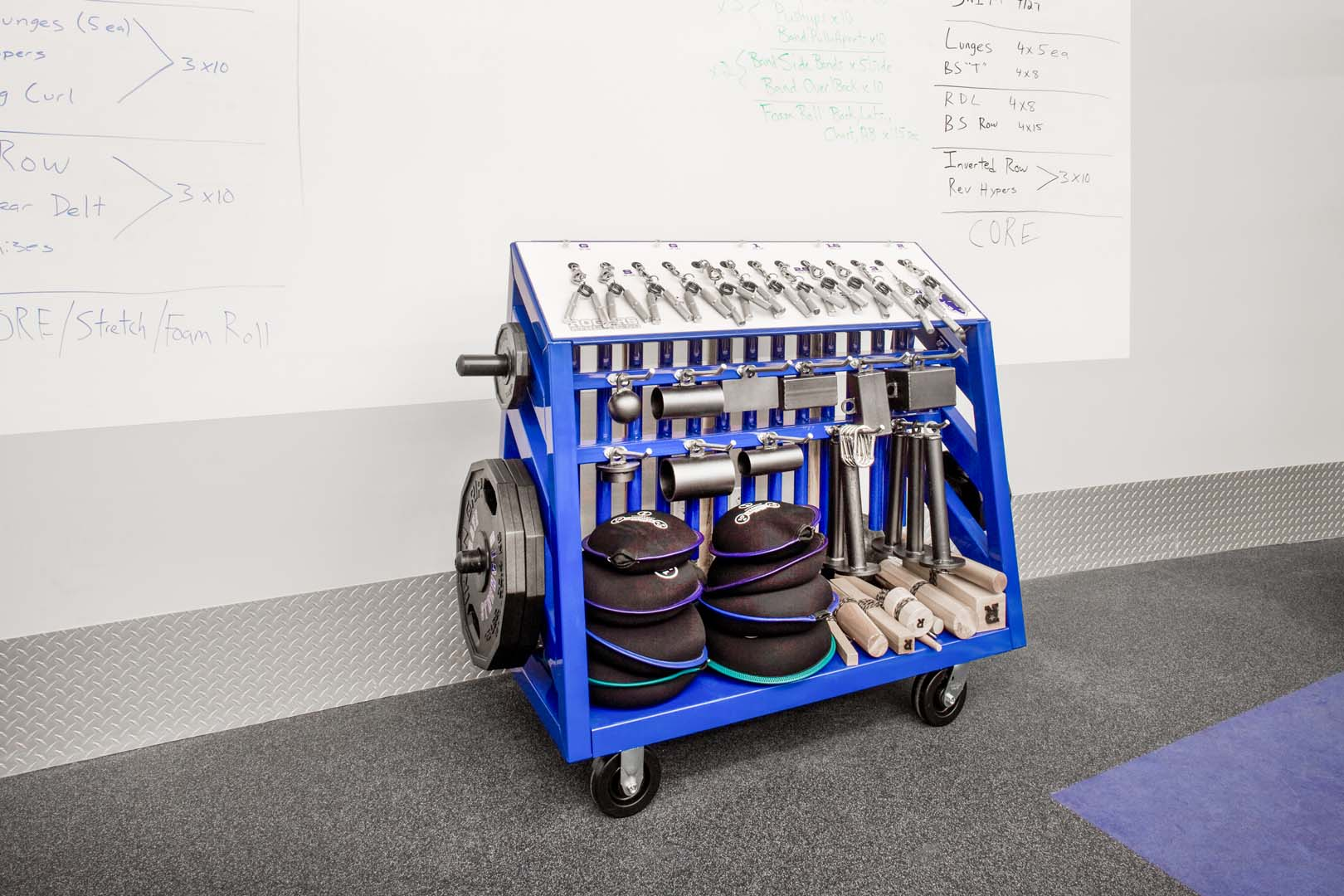 Seton Hall Strength - Rogers Grip Cart