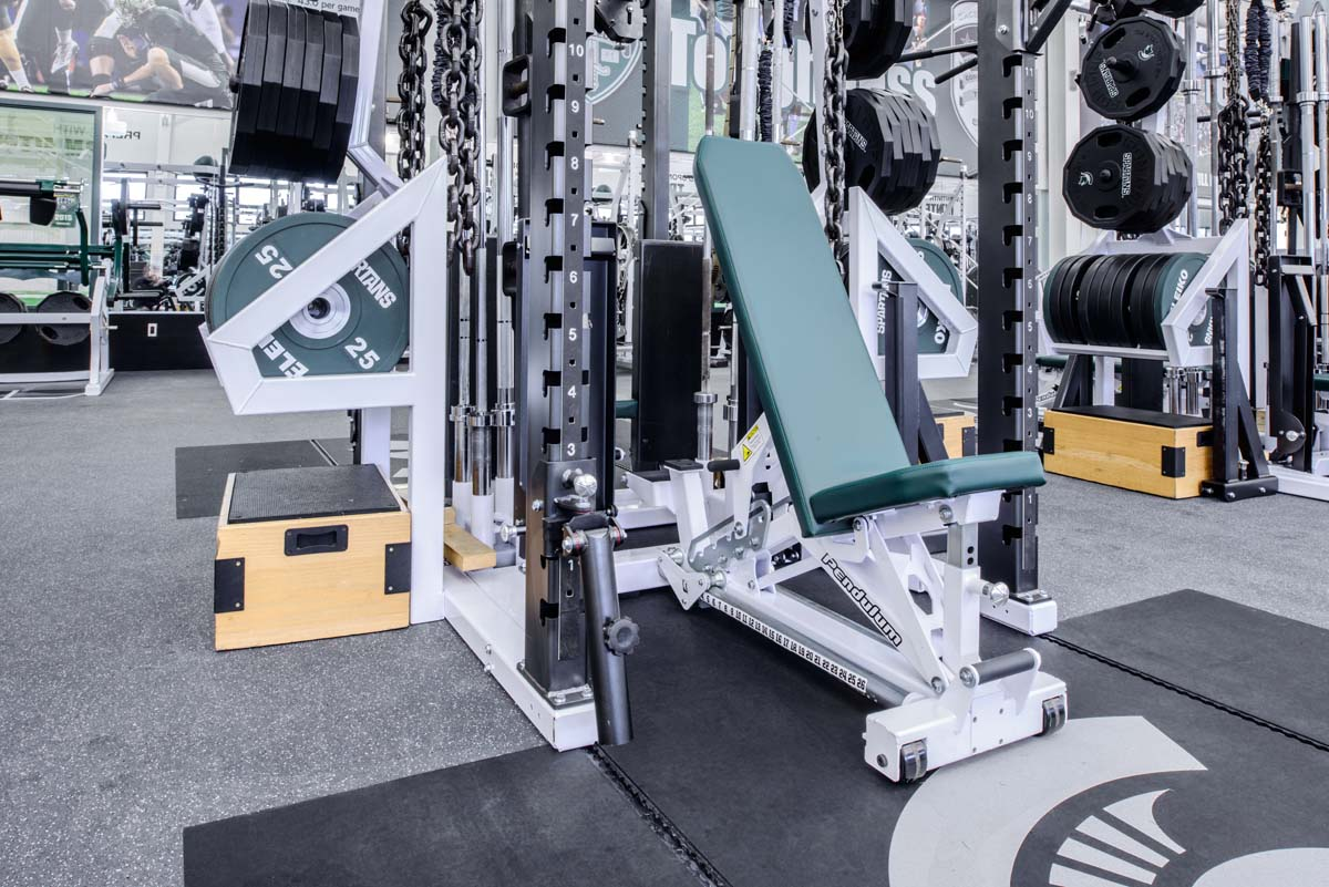 The Pendulum FTS Synchro Bench installed at Michigan State University