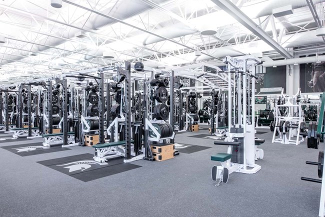 Pendulum Dual Rack XL's with our free standing modular mount for the Pendulum Power Stacks at Michigan State University football