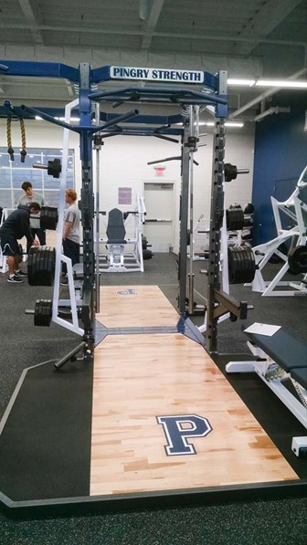 Pendulum Dual Rack with our Olympic Lift Platform.