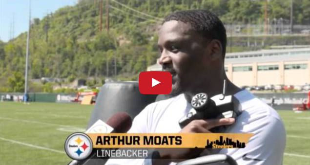 Pittsburgh Steelers Testing the MVP | DRIVE Mobile Tackling Dummy