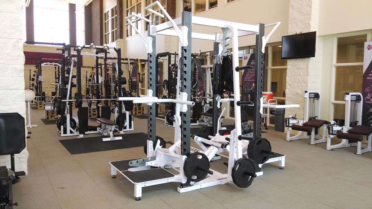 Dual Rack at Mississippi State University Strength