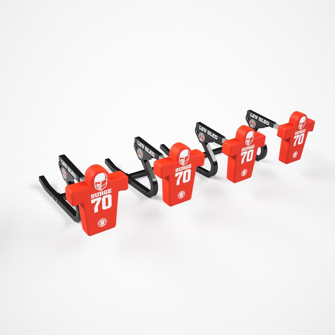 4 man football sled - lev