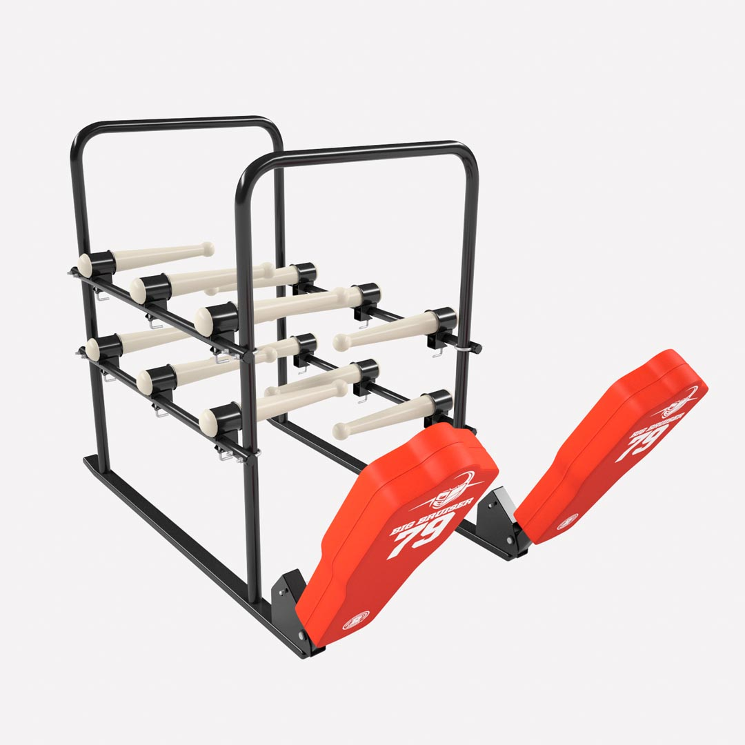 football practice equipment - 12 arm blaster with football sled