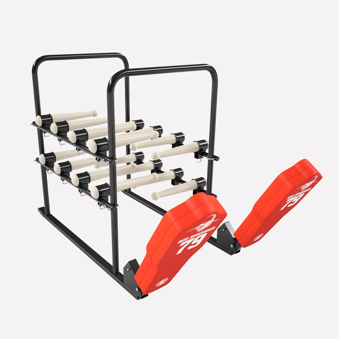football practice equipment - 16 arm blaster with football sled