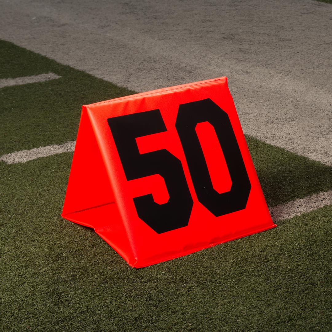 Folding Yard Line Markers - Set of 22