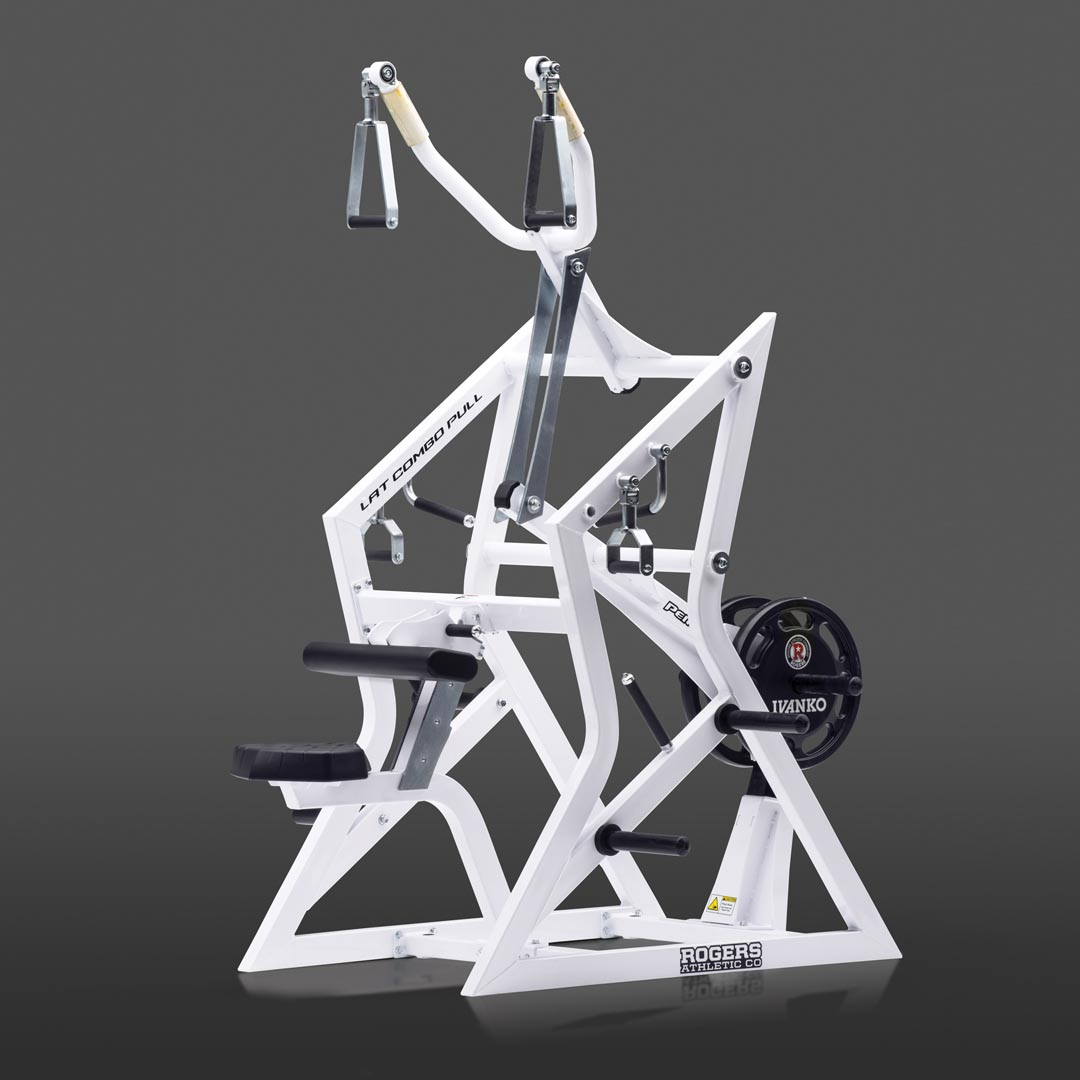 weight lifting machine - lat combo pull