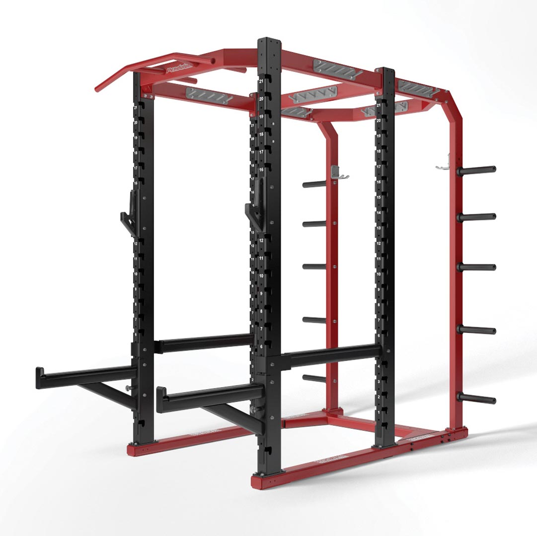 weight rack - full