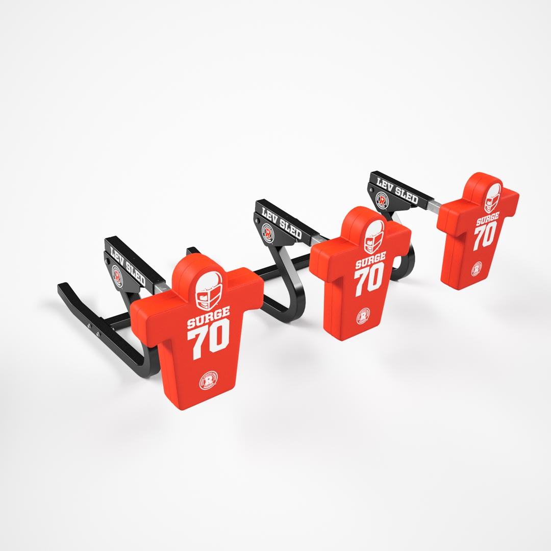 3 man football sled - lev