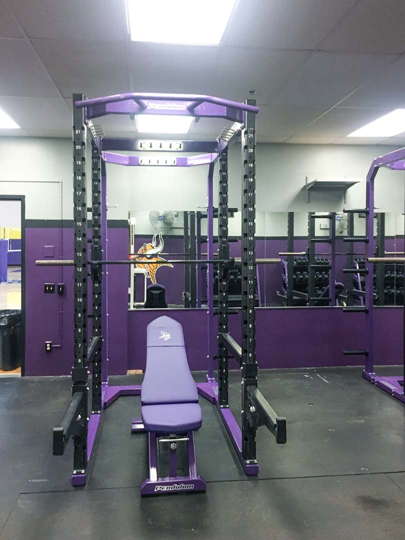 New Pendulum Full Racks at Puyallup High School