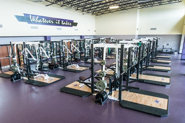 Pendulum Dual Racks at Hallsville High School
