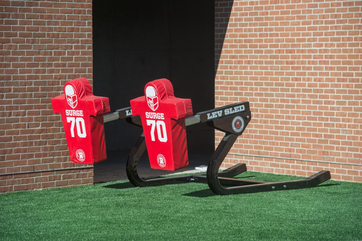 Rogers LEV Sled on the field at Indiana Wesleyan University