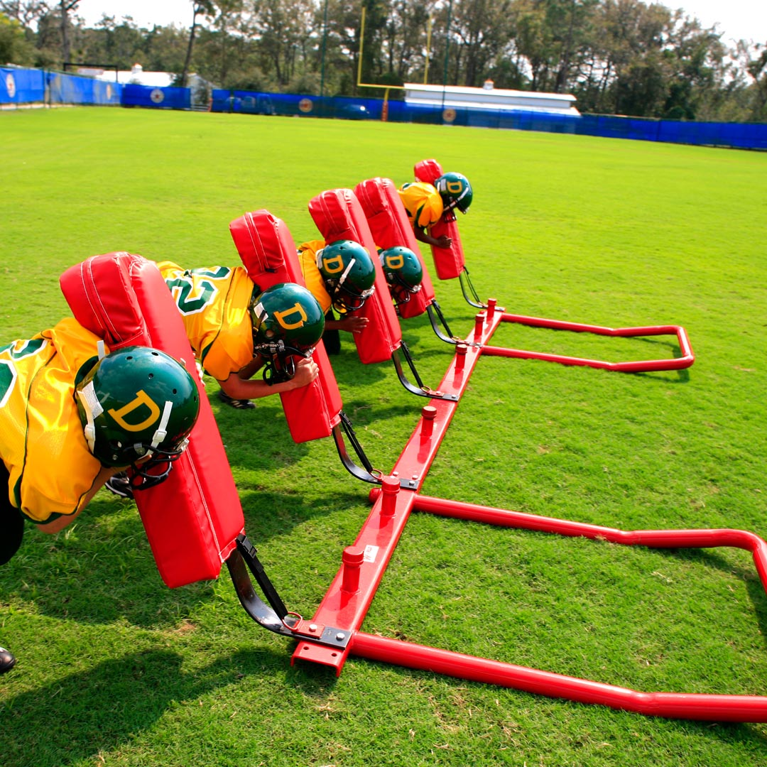 5 man youth football sled