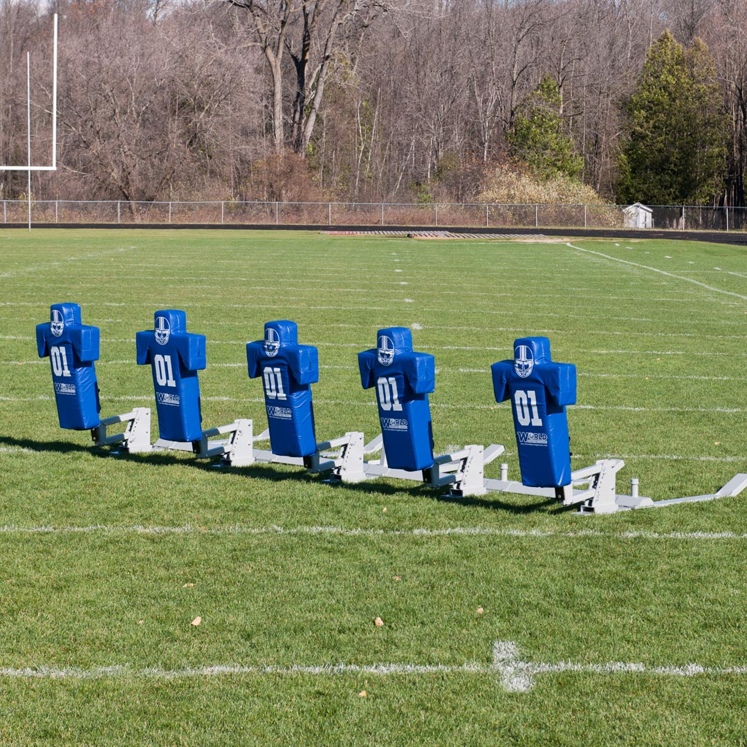 5 man football sled