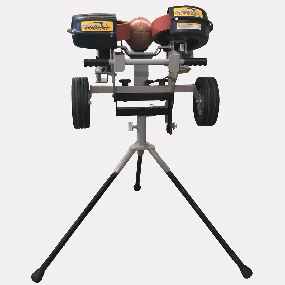 football throwing machine - aerial attack