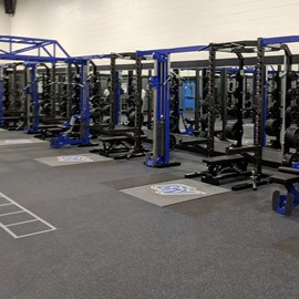 Grand Valley State University Weight Room