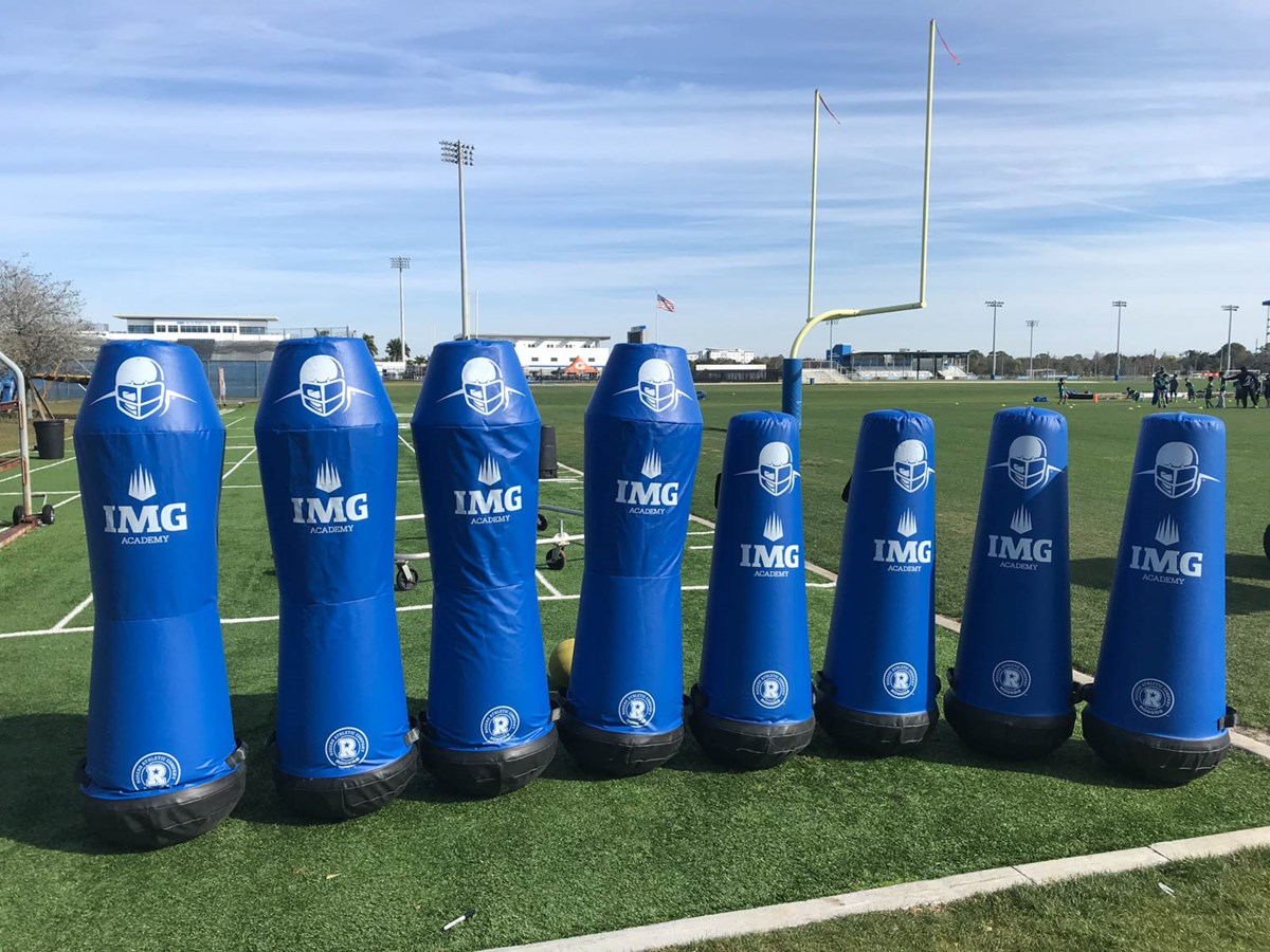 Titan and Scout dummies at IMG Academy