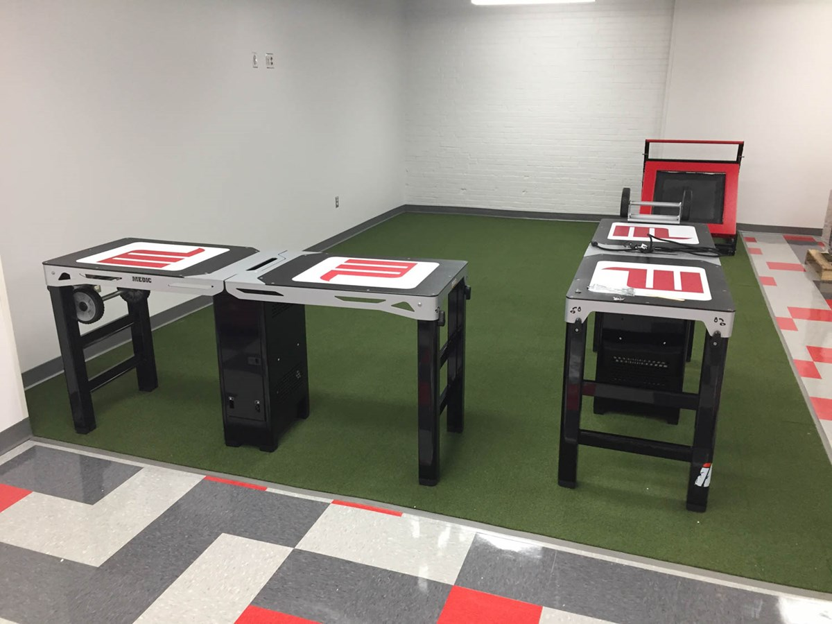 Medic XL athletic training tables at Wittenberg University