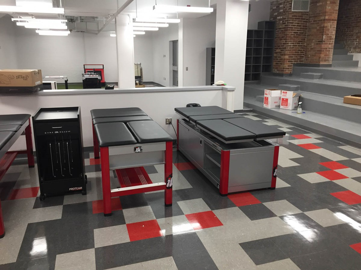 Anchor SL & Anchor HL athletic training tables at Wittenberg University
