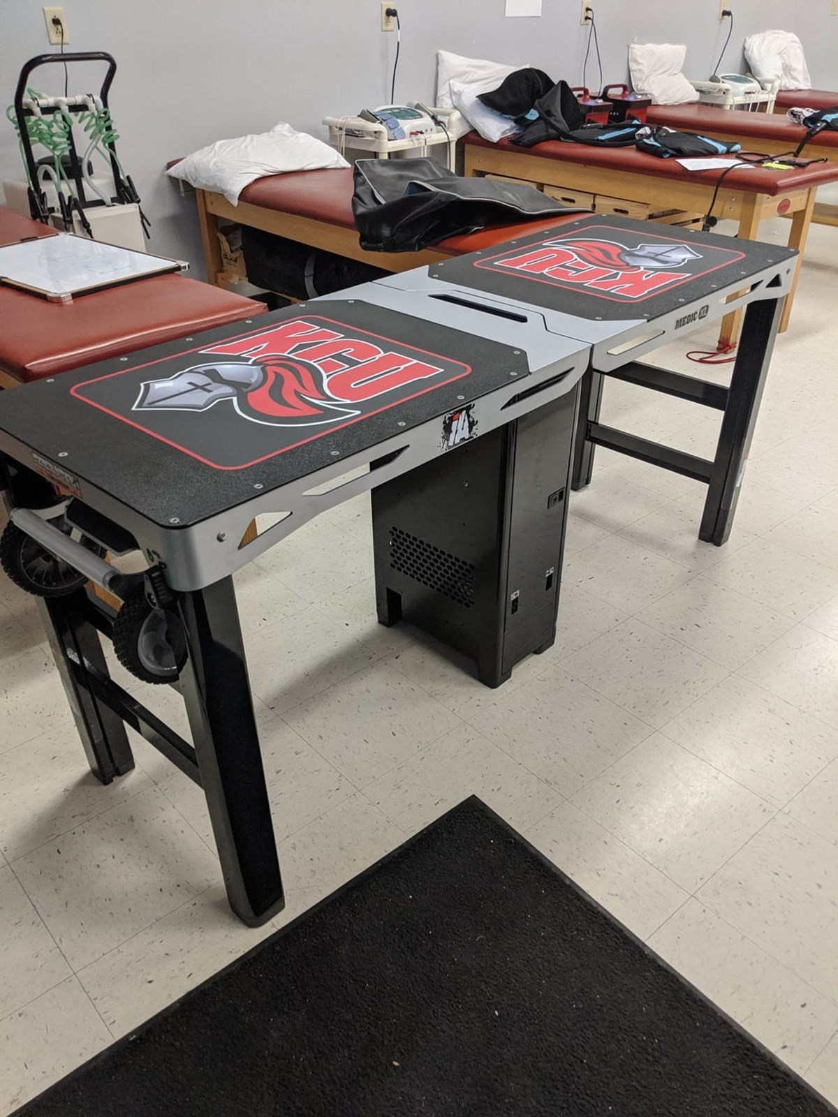 Medic XL athletic training table at Kentucky Christian University